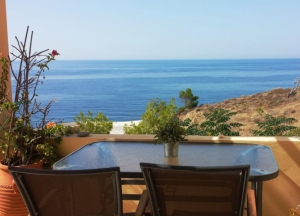 Deluxe One-Bedroom Apartment with Sea View (2 Adults & 1 child), Volissos Holiday Homes, Chios hotels, Chios rooms, Chios apartments, Chios Vacations, Volissos, Greece